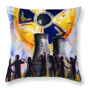 Radioactive - New Generation Throw Pillow