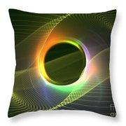 Radiowave Throw Pillow