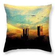 Raf Bomber Command  Throw Pillow