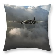Raf Coastal Command Vickers Warwick Asr Throw Pillow