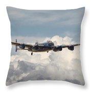 Raf Lancaster Throw Pillow