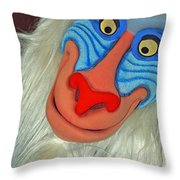 Rafiki Throw Pillow