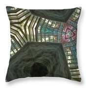 Rafters Abstract Throw Pillow