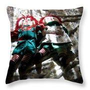 Raggedy Ann And Andy Dolls Casa Grande Arizona 2005 Throw Pillow