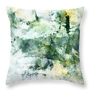 Ragtime Abstract  Art  Throw Pillow by Ann Powell