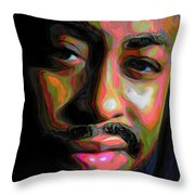 Raheem Devaughn Throw Pillow