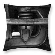 Rail Detail Throw Pillow