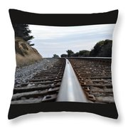 Rail Rode Throw Pillow