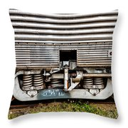 Rail Support Throw Pillow