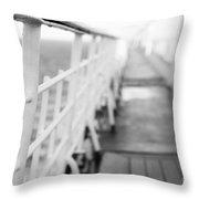 Railings Throw Pillow