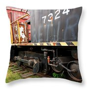 Railroad Retirement Throw Pillow