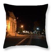 Rails Pre Dawn Throw Pillow