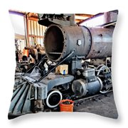 Railyard 13 Throw Pillow