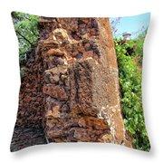 Railyard Wall 2 Throw Pillow