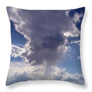 Rain Cloud Throw Pillow