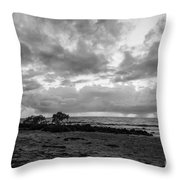 Rain Clouds At Sea 2 Throw Pillow