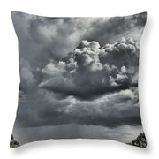 Rain In The Distance Throw Pillow