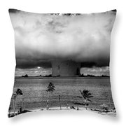 Rain Of Ruin Throw Pillow
