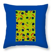 Rain On A Sunny Day Notecard Throw Pillow