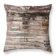 Rain Puddle Ghosts Throw Pillow