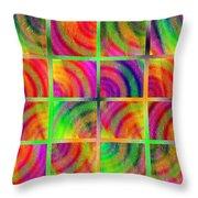 Rainbow Bliss 3 - Over The Rainbow H Throw Pillow