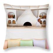 Rainbow Chef Throw Pillow