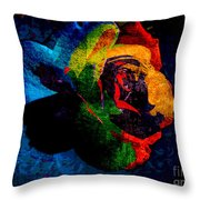 Rainbow Ecstasy Throw Pillow
