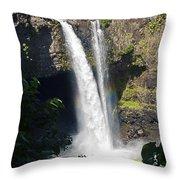 Rainbow Falls IIi Throw Pillow