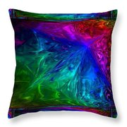 Rainbow Fantasy Throw Pillow