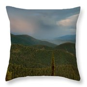 Rainbow From The Lolo Trail Throw Pillow