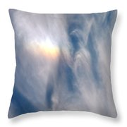 Rainbow Blessings Throw Pillow