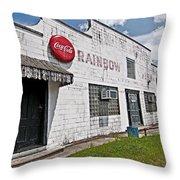 Rainbow Inn Cajun Dance Hall Throw Pillow