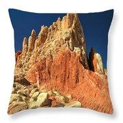 Rainbow Ridge Throw Pillow