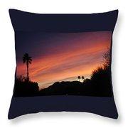 Rainbow Sky 2 Throw Pillow