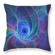 Rainbow Whirlpool Throw Pillow