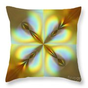 Rainbows Abstract Throw Pillow