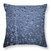 Raindrops On Window I Throw Pillow