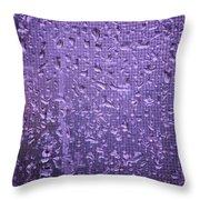Raindrops On Window II Throw Pillow