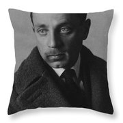 Rainer Maria Rilke Throw Pillow