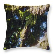 Rainforest Cover Throw Pillow