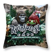 Rainforest Throw Pillow