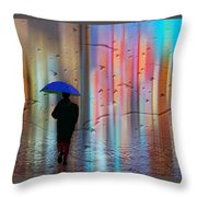 Rainman - Parallels Of Time Throw Pillow