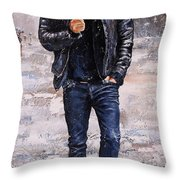 Rainy Day #23 Throw Pillow by Emerico Imre Toth