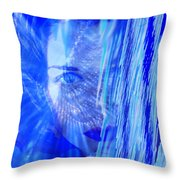 Rainy Day Dreams Throw Pillow