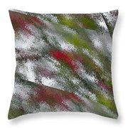 Rainy Day In Clear Throw Pillow