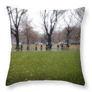 Rainy Day Mfa Throw Pillow