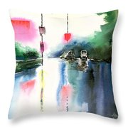 Rainy Day New Throw Pillow