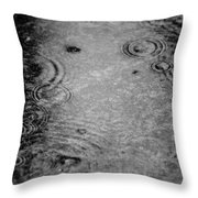 Rainy Days 23 Throw Pillow