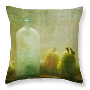 Rainy Days Throw Pillow by Amy Weiss