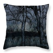 Rainy Days And Mondays- Feature-barns Big And Small-visions Of The Night-photography And Textures Throw Pillow